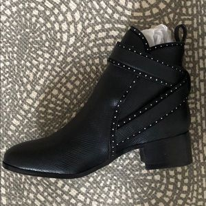 BRAND NEW FP vegan leather black boots